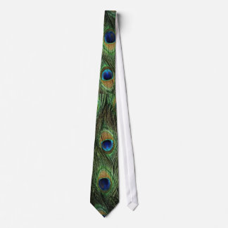 Peacock Feathers Neck Tie