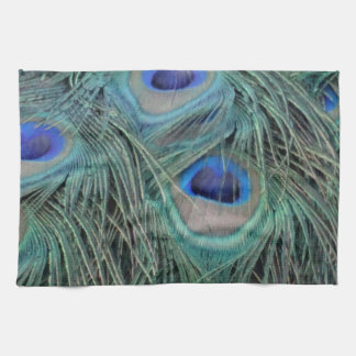 Peacock Feathers With Eye Spots Kitchen Towel