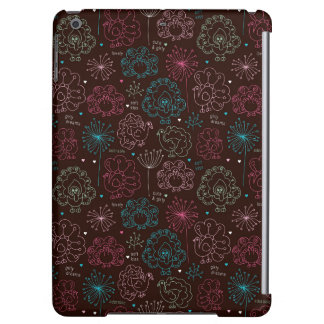 peacock flower india wallpaper vintage case for iPad air