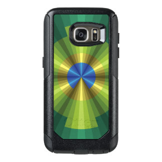 Peacock Illusion Otterbox Phone Case