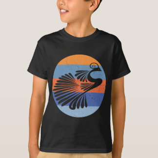 Peacock - Indian Retro T-Shirt