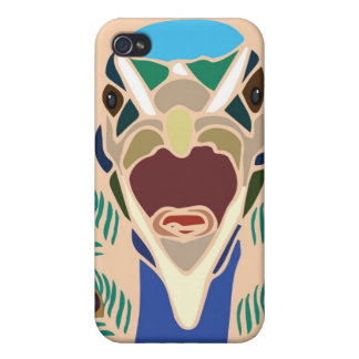 peacock iPhone 4/4S case