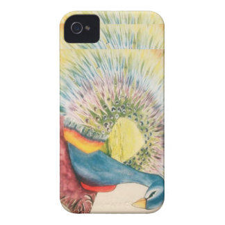 peacock iPhone 4 cover