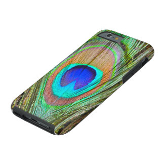 """Peacock iPhone 6 Case"" Tough iPhone 6 Case"