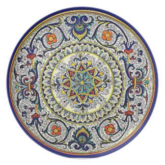 Peacock Italia Plate