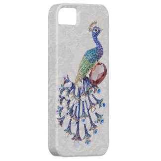 Peacock Jewel Image Paisley Lace Photo Case For The iPhone 5