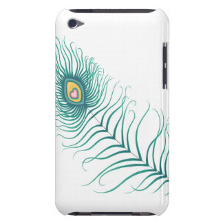 Peacock Love Barely There iPod Cases