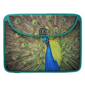 Peacock MacBook Pro Sleeves