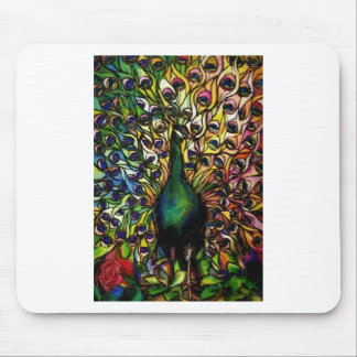 Peacock Majestic Mouse Pad
