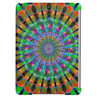 Peacock Mandala iPad Air Covers