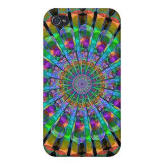 Peacock Mandala iPhone 4/4S Covers
