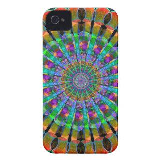 Peacock Mandala iPhone 4 Case-Mate Cases