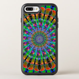 Peacock Mandala OtterBox Symmetry iPhone 7 Plus Case