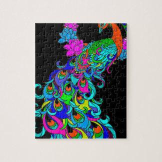 Peacock MandalP Jigsaw Puzzle