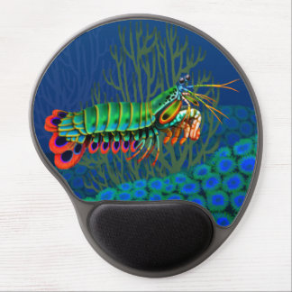 Peacock Mantis Shrimp Gel Mousepad