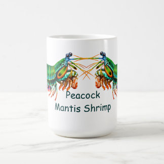 Peacock Mantis Shrimp Mug