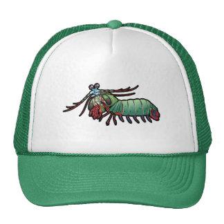 Peacock Mantis Shrimp Trucker Hat