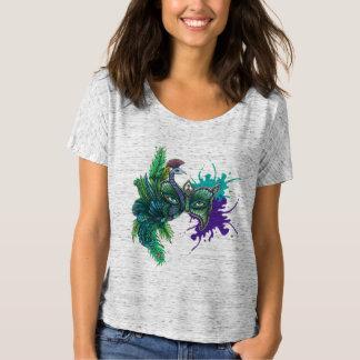 Peacock Mask T-Shirt