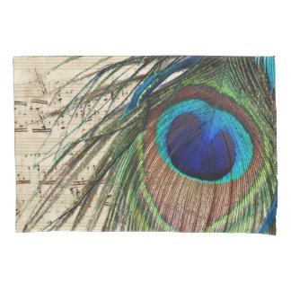 Peacock Music Pillowcase