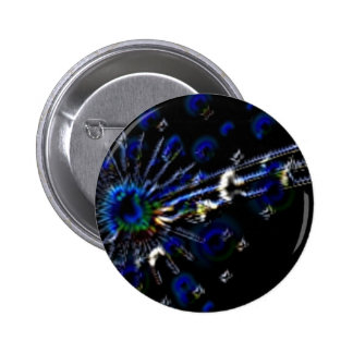 Peacock Note Products Pin