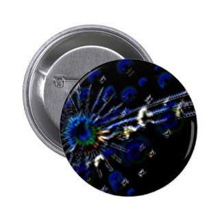 Peacock Note Products Pinback Buttons