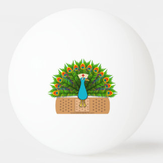 Peacock Nurse Ping Pong Ball