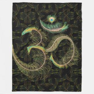 Peacock OM Large Blanket