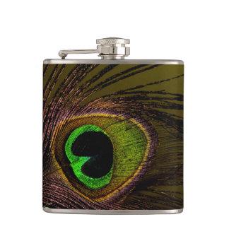 Peacock Peafowl Bird Flask