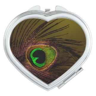 Peacock Peafowl Bird Mirrors For Makeup