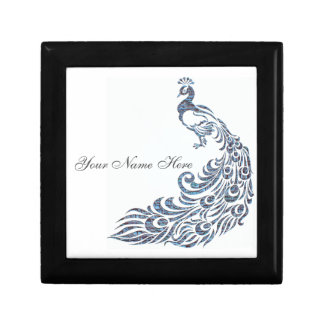 Peacock Personalized Gift Box