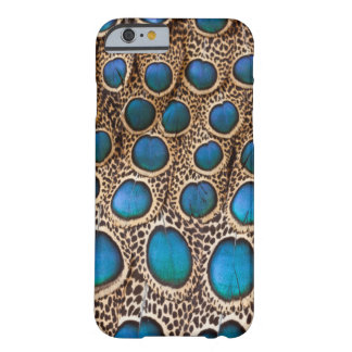 Peacock-pheasant feather design barely there iPhone 6 case