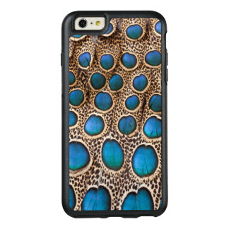 Peacock-pheasant feather design OtterBox iPhone 6/6s plus case