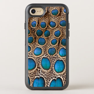 Peacock-pheasant feather design OtterBox symmetry iPhone 8/7 case