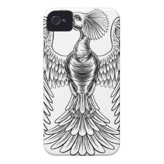 Peacock Phoenix bird design iPhone 4 Covers