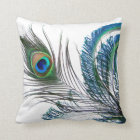 Peacock Pillow Abstract