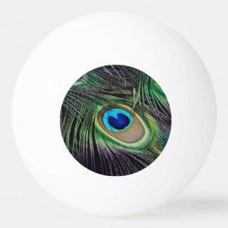 Peacock Ping-Pong Ball