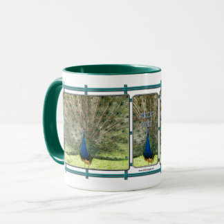 Peacock Pizzazz Coffee Mug