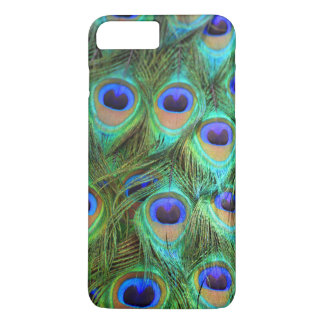 Peacock Plumes for I Phone 7 iPhone 8 Plus/7 Plus Case