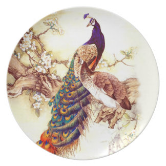 Peacock Royal Plate