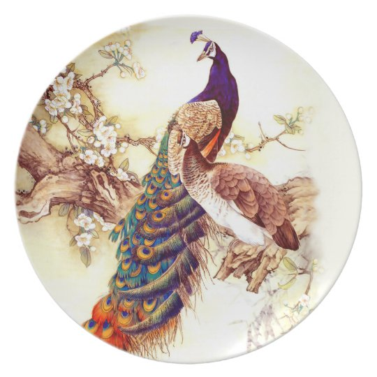 Peacock Royal Plate