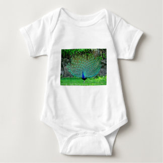 Peacock Slight Baby Bodysuit