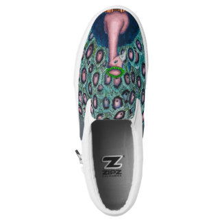 Peacock Slip-on Shoes