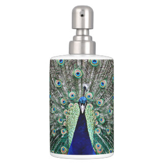 Peacock Soap Dispensers