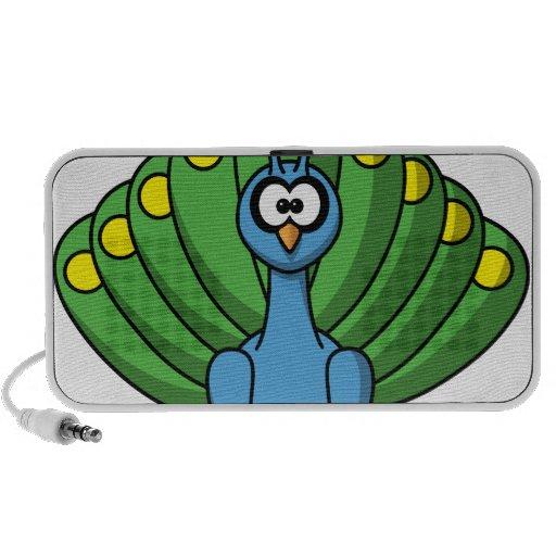 Peacock Mini Speakers