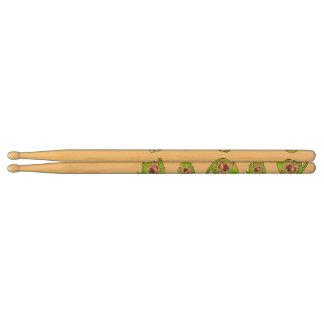 Peacock spider drum sticks