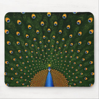 Peacock Spread Mousepad