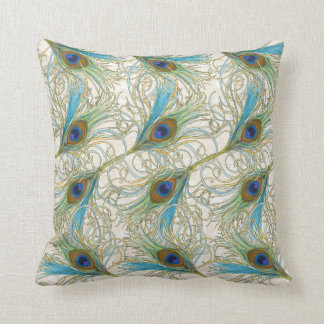 Peacock - SRF Throw Pillow