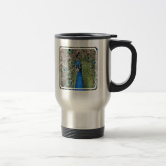 Peacock Stainless Travel Mug