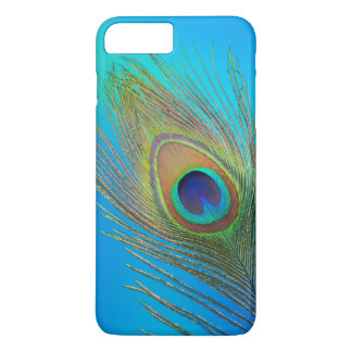 Peacock Tail Feather iPhone 8 Plus/7 Plus Case