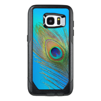 Peacock Tail Feather OtterBox Samsung Galaxy S7 Edge Case